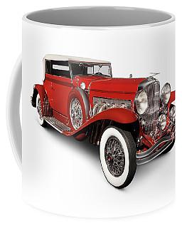 1930 Duesenberg Model Sj Rollston Convertible Victoria Coffee Mug