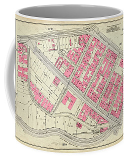 1930 Inwood Map  Coffee Mug by Cole Thompson