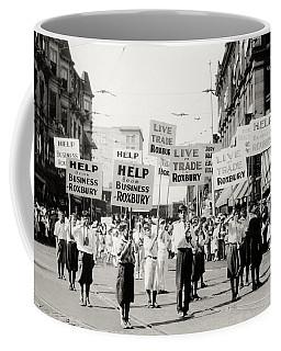 1930 Rally In Roxbury Boston Coffee Mug
