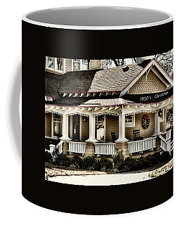 1930's Christmas Coffee Mug by Joan Bertucci