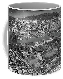 1930's Northern Manhattan Aerial  Coffee Mug