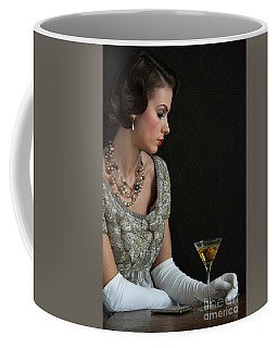 1930s Woman With A Cocktail Glass Coffee Mug