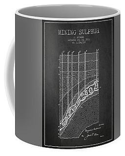 1931 Mining Sulphur Patent En38_cg Coffee Mug