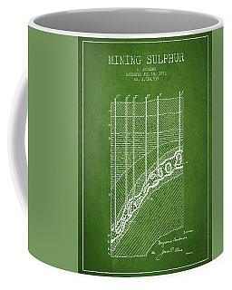1931 Mining Sulphur Patent En38_pg Coffee Mug