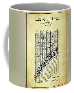 1931 Mining Sulphur Patent En38_vn Coffee Mug