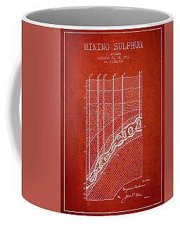 1931 Mining Sulphur Patent En38_vr Coffee Mug