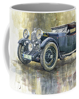 1932 Lagonda Low Chassis 2 Litre Supercharged Front Coffee Mug