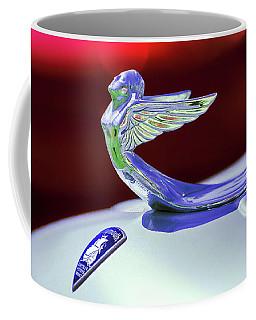 1933 Plymouth Hood Ornament -0121rc Coffee Mug