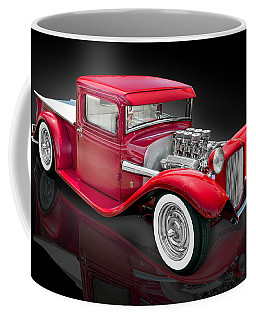 1934 Ford Custom Pickup Hot Rod Coffee Mug