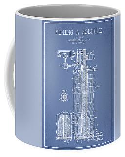 1935 Mining A Soluble Patent En39_lb Coffee Mug