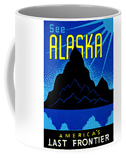 1935 See Alaska Poster Coffee Mug by Historic Image