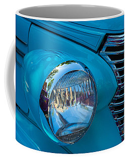1936 Chevy Coupe Headlight And Grill Coffee Mug