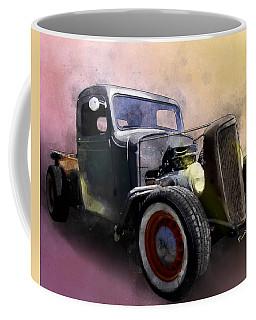 1936 Chevy Rat Rod Pickup Watercolour Coffee Mug