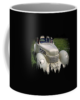 Coffee Mug featuring the photograph 1936 Cord Automobile by Thom Zehrfeld