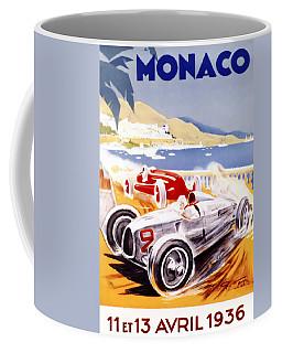 1936 F1 Monaco Grand Prix  Coffee Mug