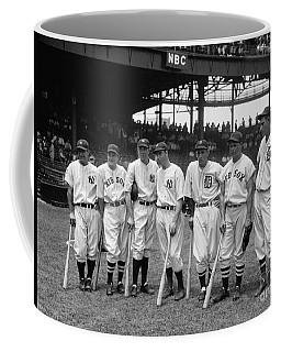 1937 All Star Baseball Players Coffee Mug