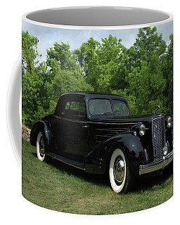 1937 Cadillac V16 Fleetwood Stationary Coupe Coffee Mug by Tim McCullough