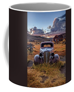 1937 Chevy At Sunset Coffee Mug