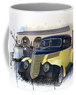 1937 Ford Deluxe Sedan_a2 Coffee Mug