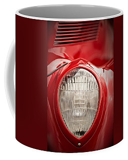 1937 Ford Headlight Detail Coffee Mug