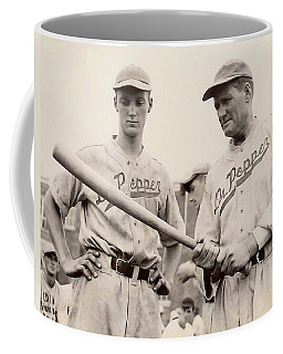 Coffee Mug featuring the photograph 1938 Walter Johnson Dr. Pepper by Paul Van Scott