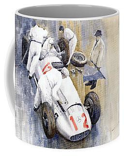 1939 German Gp Mb W154 Rudolf Caracciola Winner Coffee Mug