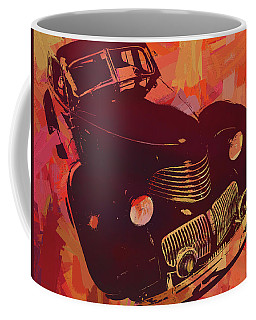1940 Hupp Skylark Red Pop Coffee Mug