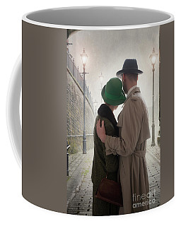1940s Couple At Dusk  Coffee Mug by Lee Avison