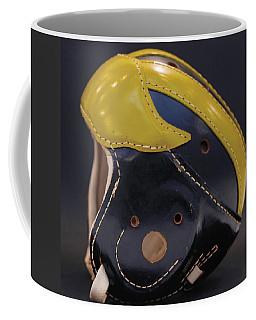 1940s Leather Wolverine Helmet Coffee Mug