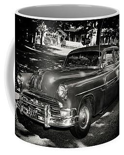 1940s Police Car Coffee Mug by Paul Seymour