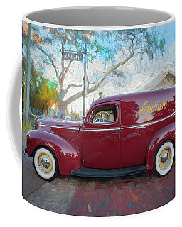 1941 Ford Deluxe Panel Truck C139 Coffee Mug by Rich Franco