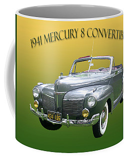 1941 Mercury Eight Convertible Coffee Mug