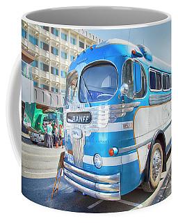 Coffee Mug featuring the photograph 1946 Greyhound by Theresa Tahara