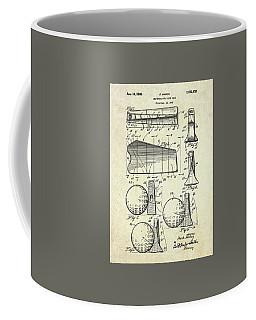 1947 Universal Golf Head Patent Art Coffee Mug