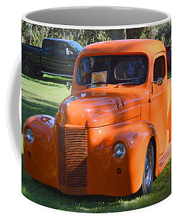 Coffee Mug featuring the photograph 1949 International Truck by AJ Schibig