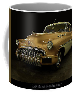 Coffee Mug featuring the photograph 1950 Buick Roadmaster by Chris Flees