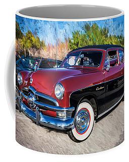 1950 Ford 2 Door Crestliner Painted    Coffee Mug