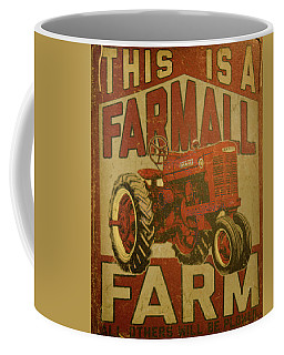 1950's Farmall Tractor Coffee Mug