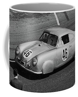 1951 Porsche At Le Mans - Doc Braham - All Rights Reserved Coffee Mug