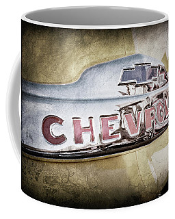 1952 Chevrolet Hood Emblem -0245ac Coffee Mug
