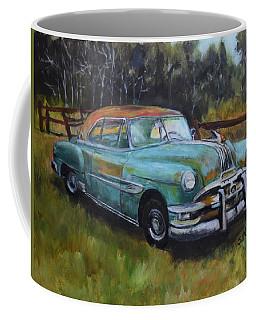 Coffee Mug featuring the painting 1952 Pontiac Chieftain  by Sandra Nardone