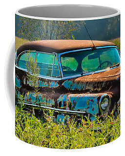 1953 Buick Roadmaster - September Morning Coffee Mug by Greg Jackson