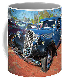 1953 Citroen Traction Avant Coffee Mug by Rich Franco