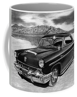 1953 Mercury Monterey On Bonneville Coffee Mug