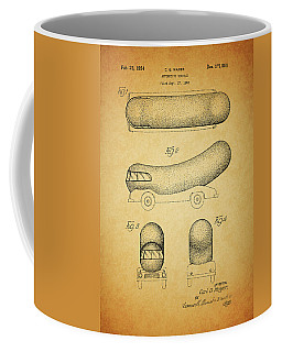 1954 Weiner Mobile Patent Coffee Mug by Dan Sproul