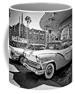 1955 Fairlane Crown Victoria Bw Coffee Mug