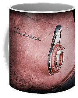 1956 Ford Thunderbird Convertible Taillight Emblem -0361ac Coffee Mug