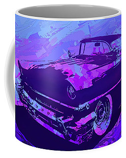1956 Mercury Hardtop Custom Pop Violet Coffee Mug