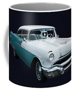 1956 Pontiac Star Chief Digital Oil Coffee Mug