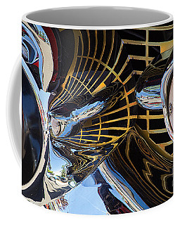 1957 Chevy Bel Air Grill Abstract 1 Coffee Mug